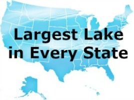 Largest lake in every state