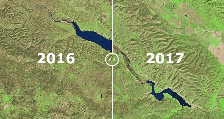 California reservoirs