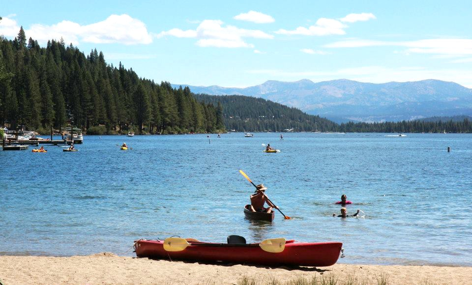 Donner Lake beach