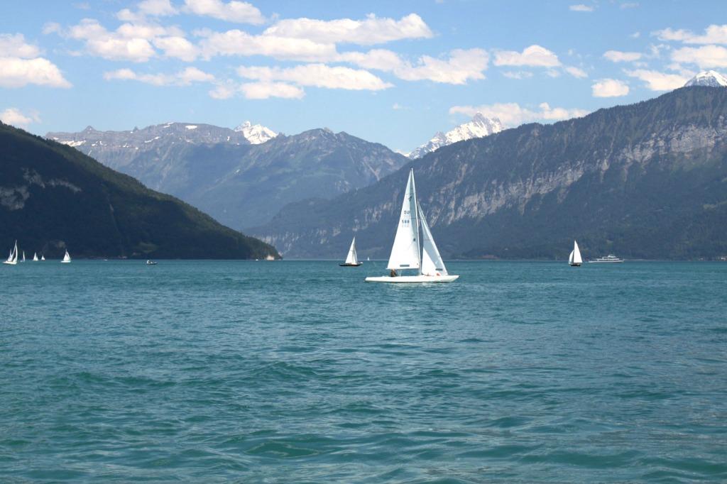 lake brienz sailing ship