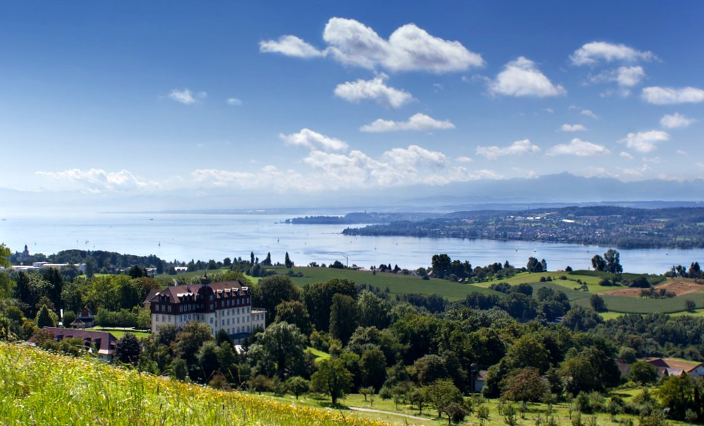 lake constance aerial