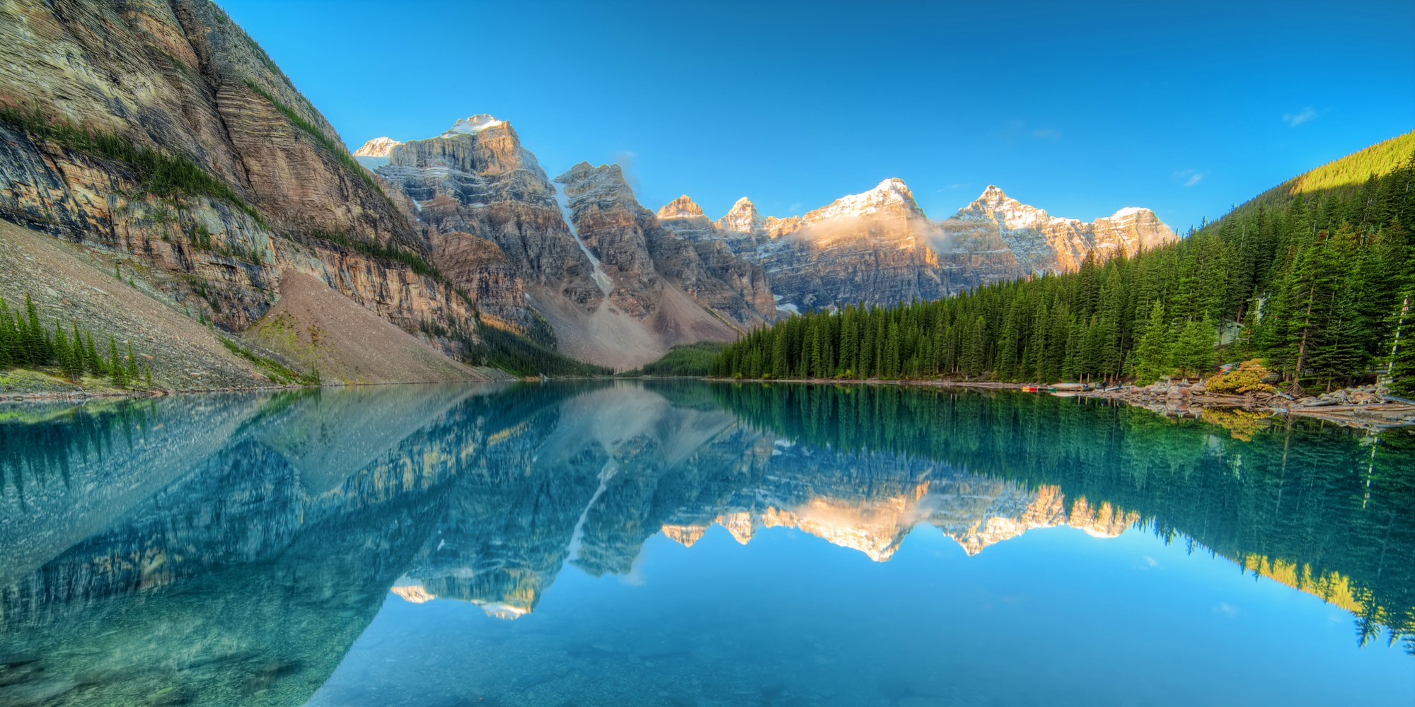Moraine Lake Alberta Canada 1 Km2 Facts Map Activities